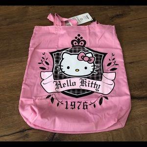 HELLO KITTY-NWT Pink Retro TOTE